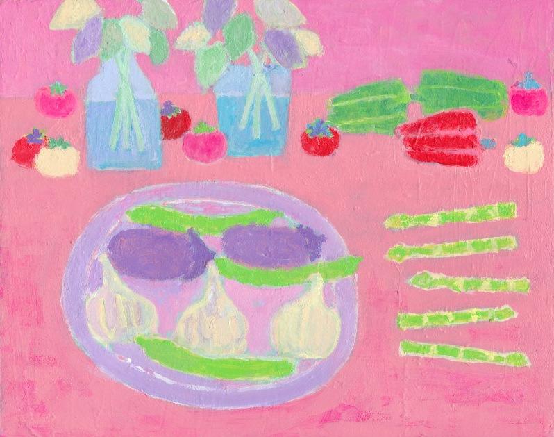 食卓の静物画